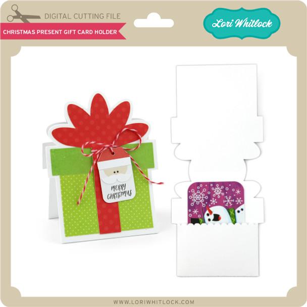 Christmas Present Gift Card Holder