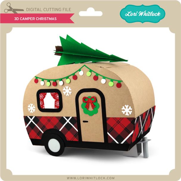 3D Camper Christmas
