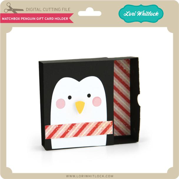 Matchbox Penguin Gift Card Holder