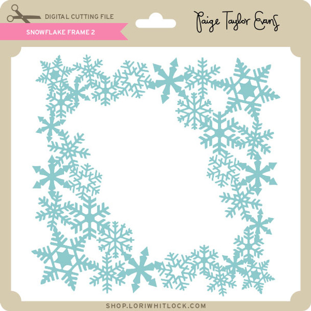 Snowflake Frame 2