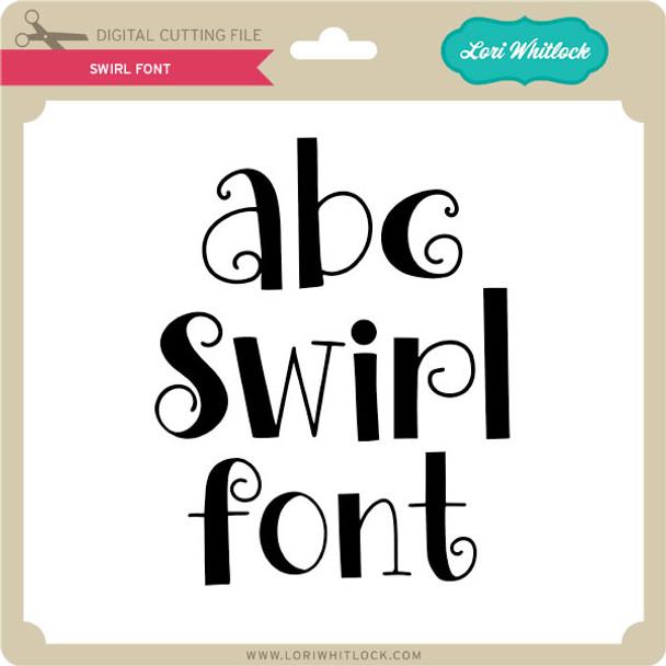 Swirl Font