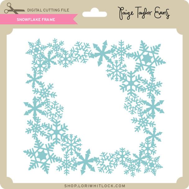 Snowflake Frame 3