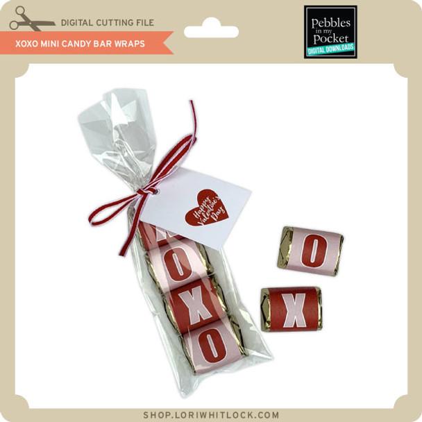 XOXO Mini Candy Bar Wraps
