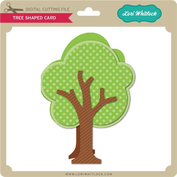 Tree Shaped Card