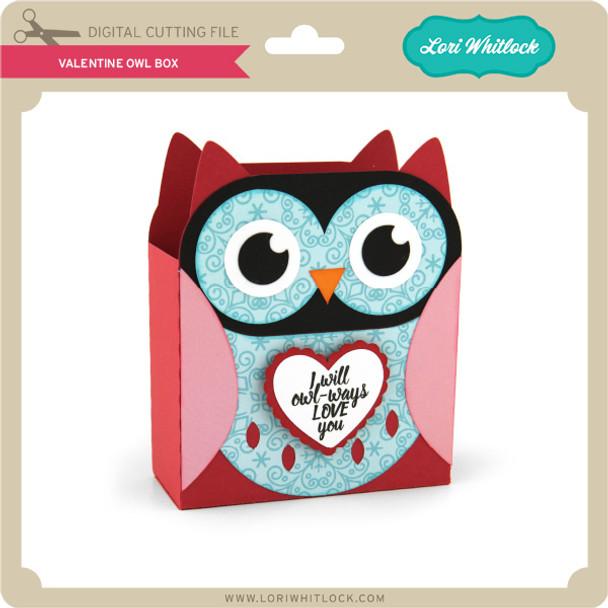 Valentine Owl Box