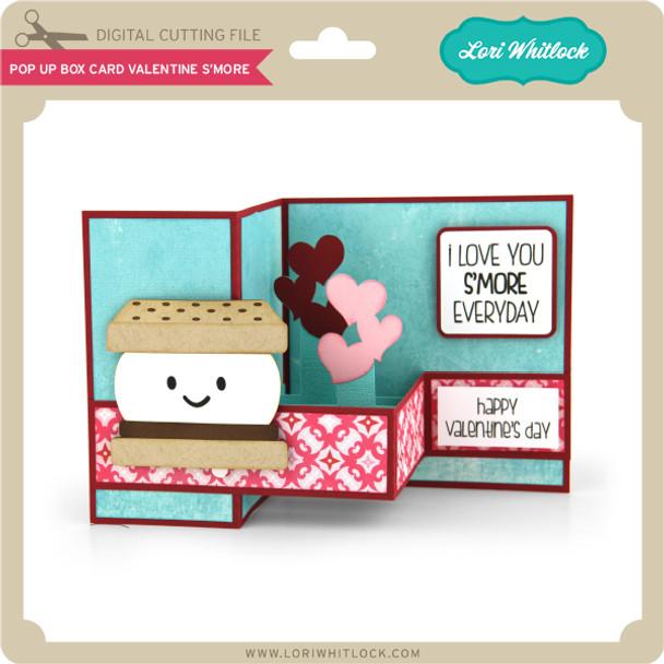 Pop Up Box Card Valentine S'More