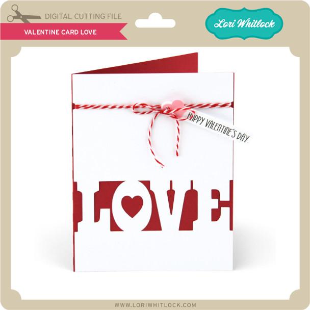 Valentine Card Love