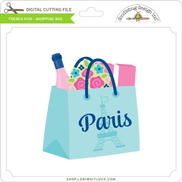 French Kiss - Shopping Bag