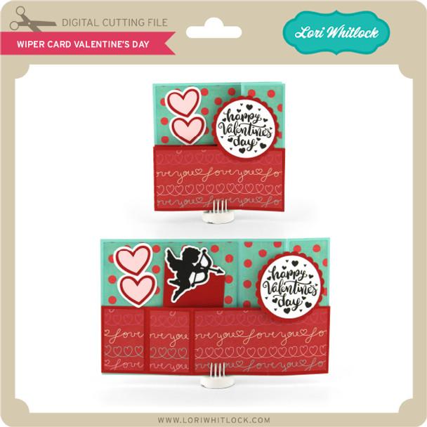 Wiper Card Valentine's Day