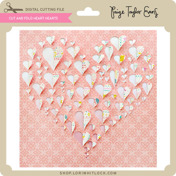 Cut and Fold Hearts Heart