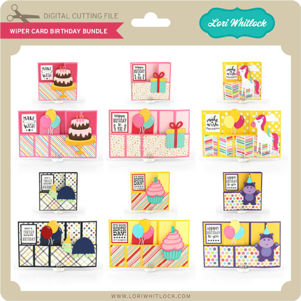 Wiper Card Birthday Bundle