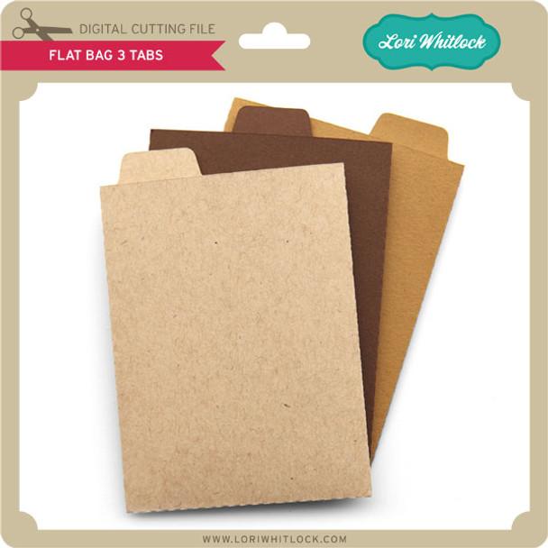Flat Bag 3 Tabs