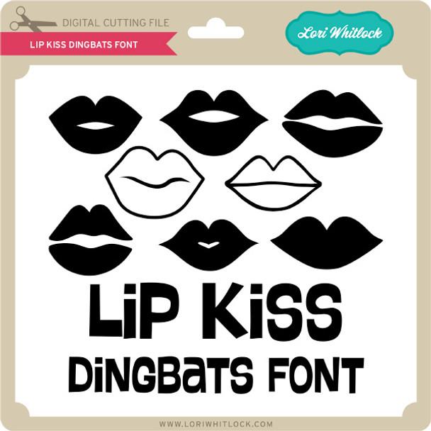 Lip Kiss Dingbats Font