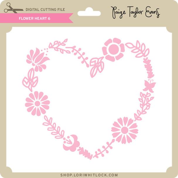 Flower Heart 6