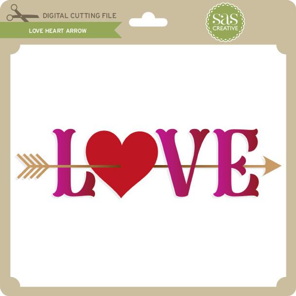 Love Heart Arrow