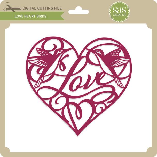Love Heart Birds
