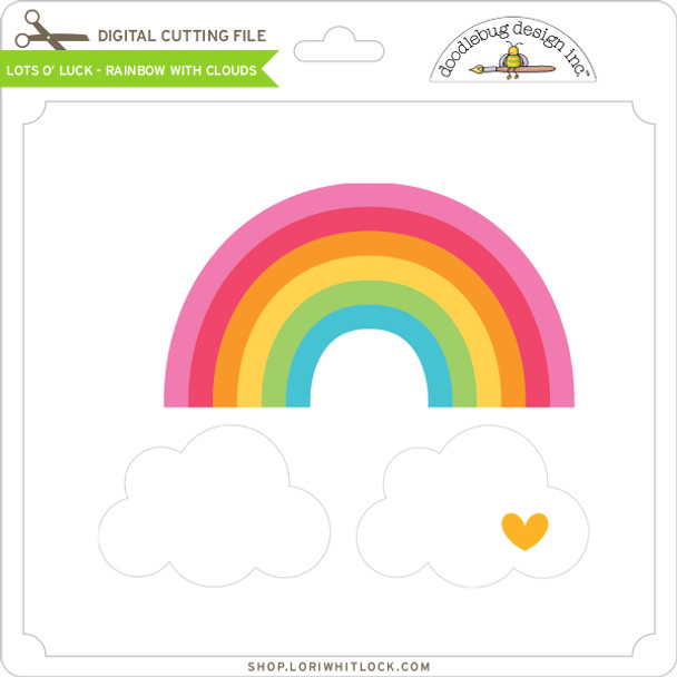 Lots O' Luck - Rainbow with Clouds