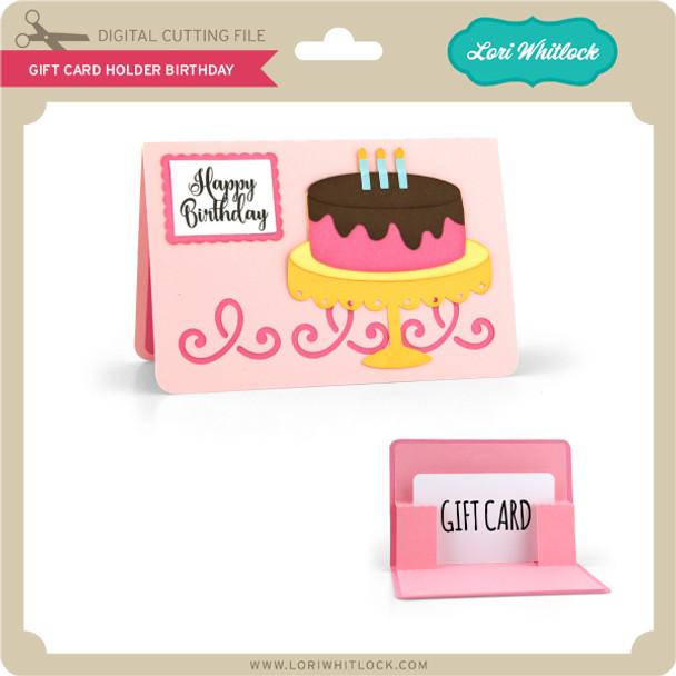 Gift Card Holder Birthday