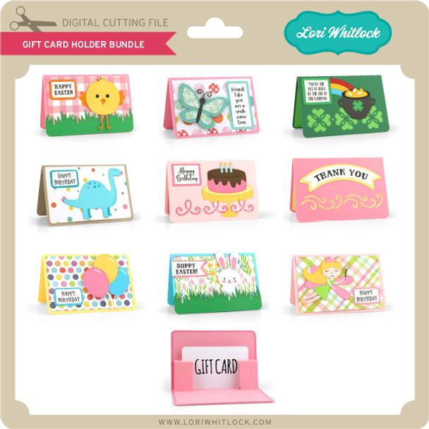 Gift Card Holder Bundle