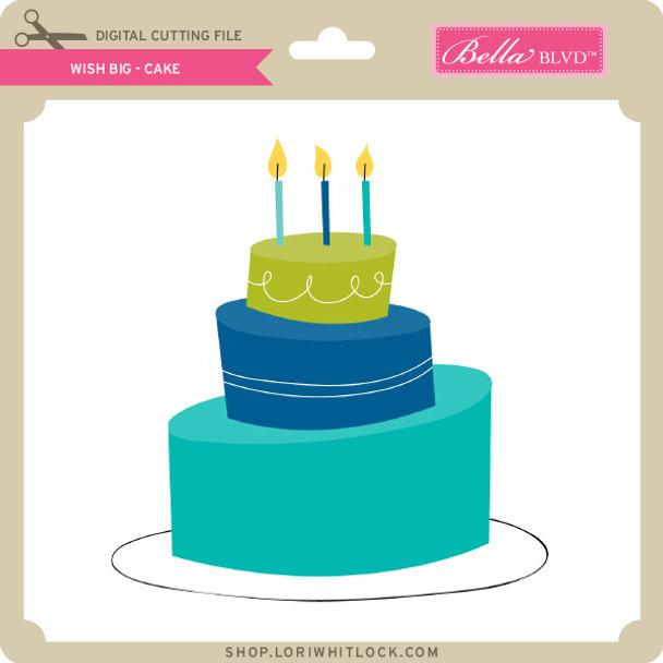 Wish Big - Cake