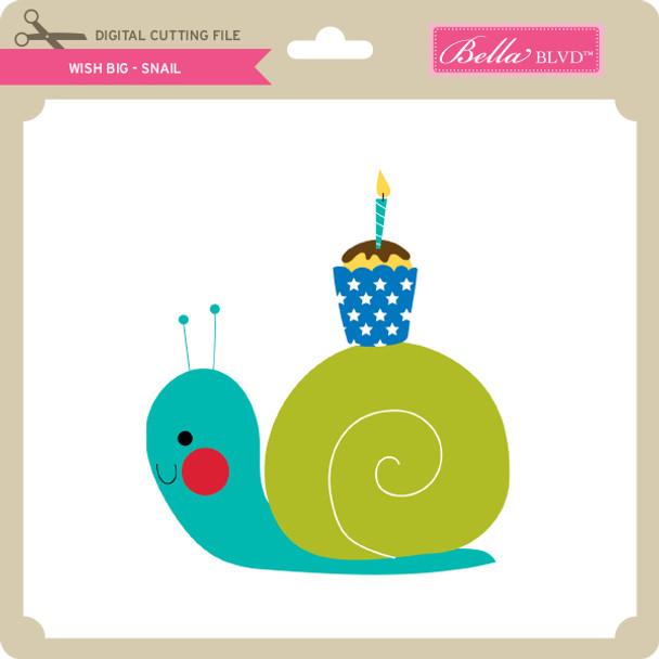 Wish Big - Snail