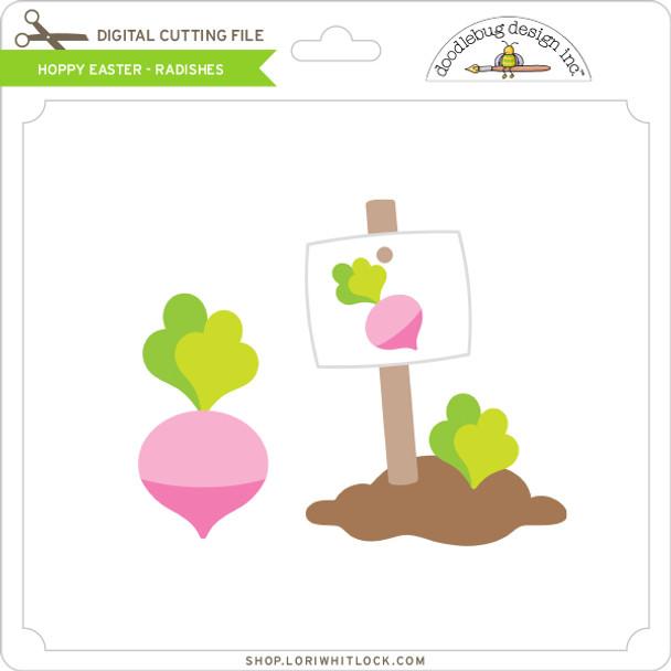 Hoppy Easter - Radishes