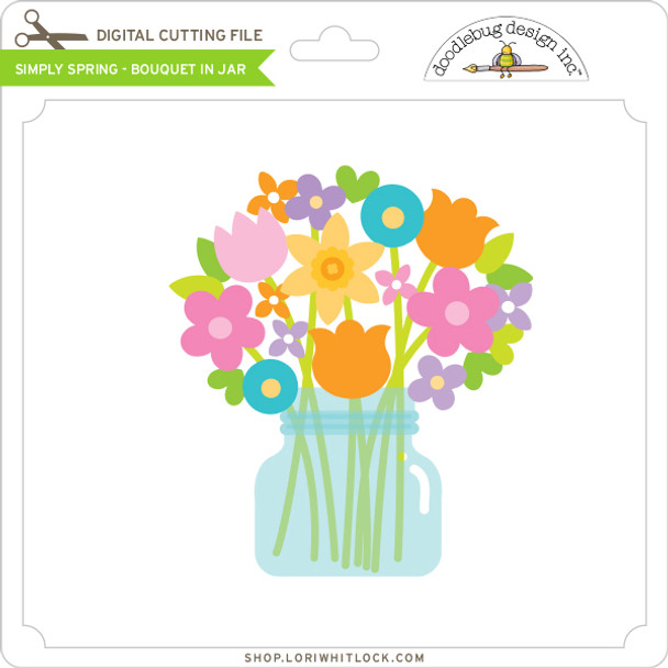 Simply Spring - Bouquet in Jar