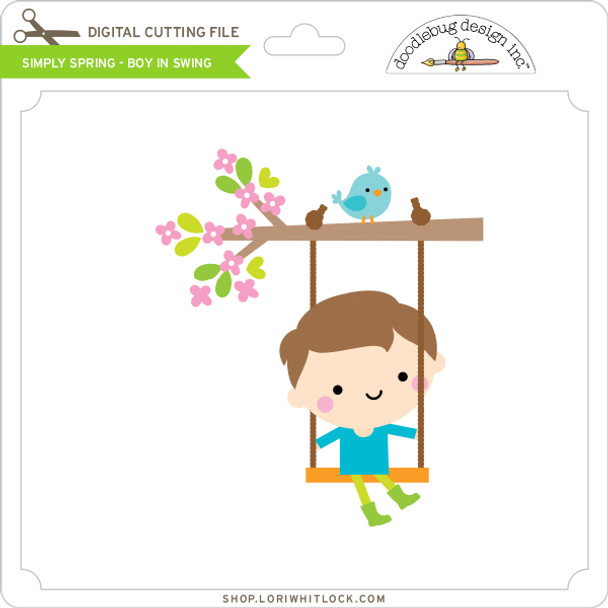 Simply Spring - Boy in Swing