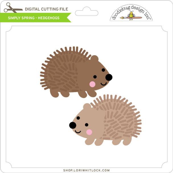 Simply Spring - Hedgehogs