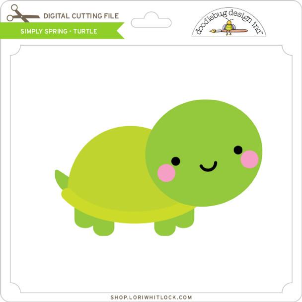 Simply Spring - Turtle