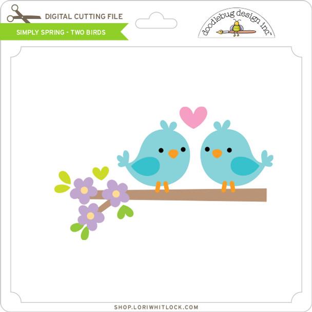 Simply Spring - Two Birds