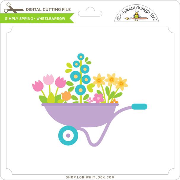 Simply Spring - Wheelbarrow