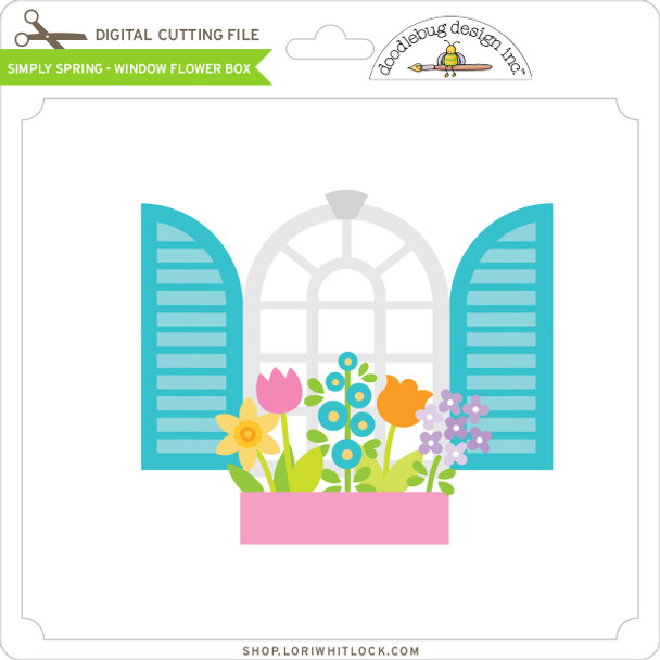 Simply Spring - Window Flower Box