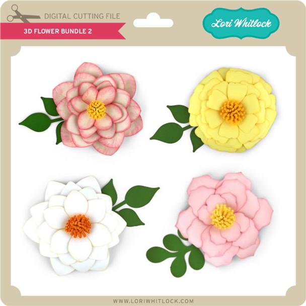 3D Flower Bundle 2