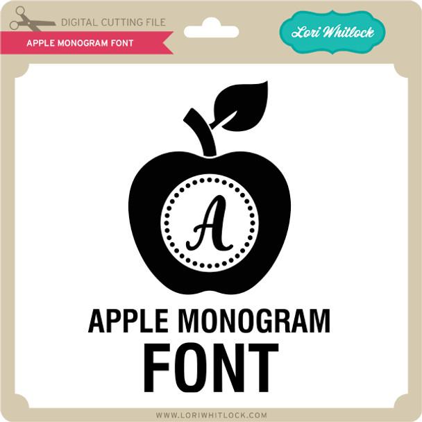 Apple Monogram Font