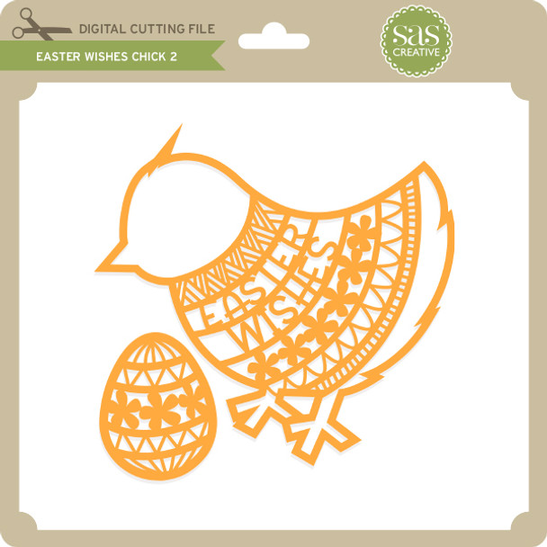 Easter Wishes Chick 2