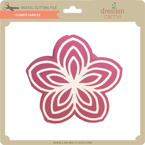 Flower Card 22
