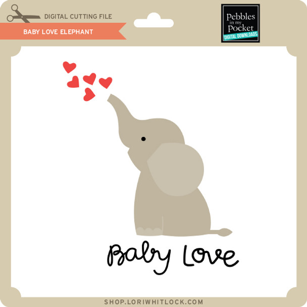 Baby Love Elephant