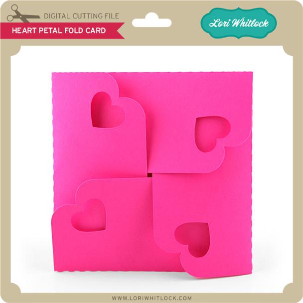 Heart Petal Fold Card