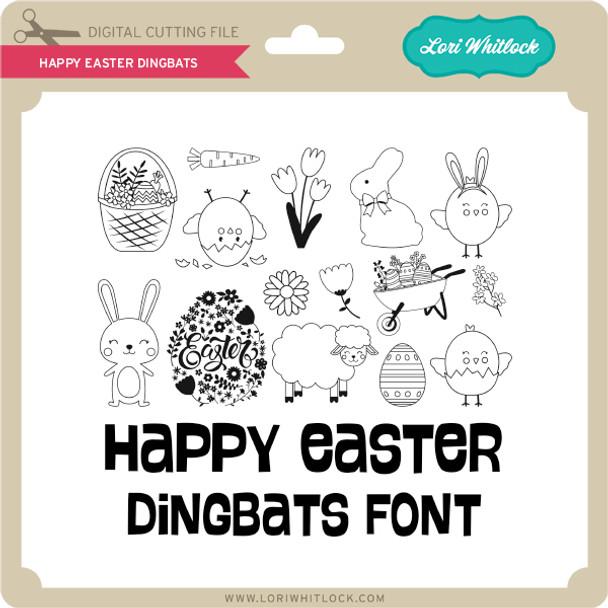 Happy Easter Dingbats