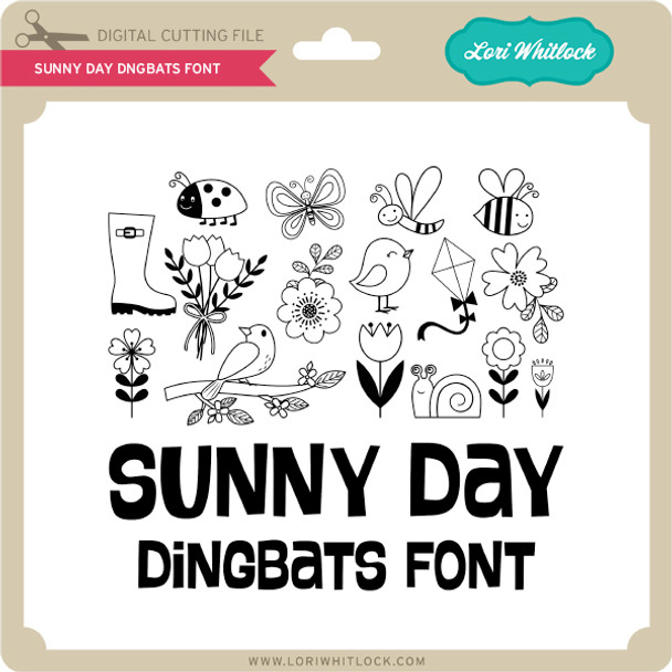 Sunny Day Dingbats Font