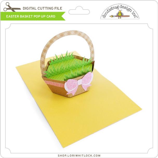 Easter Basket Pop Up Card