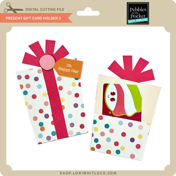Present Gift Card Holder 2
