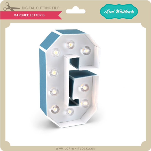 Marquee Letter G