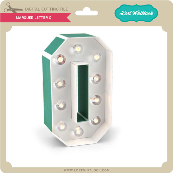 Marquee Letter O