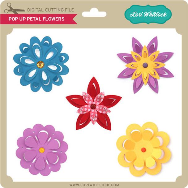 Pop Up Petal Flowers