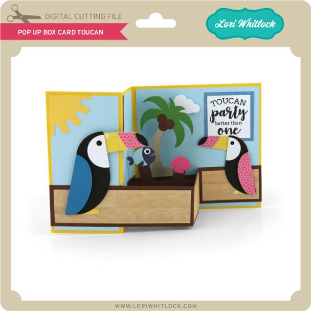 Pop Up Box Card Toucan