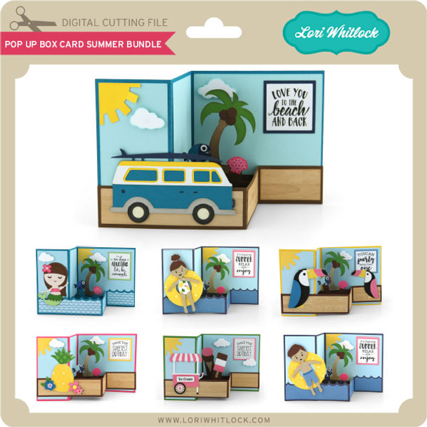 Pop Up Box Card Summer Bundle