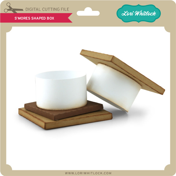 S'mores Shaped Box