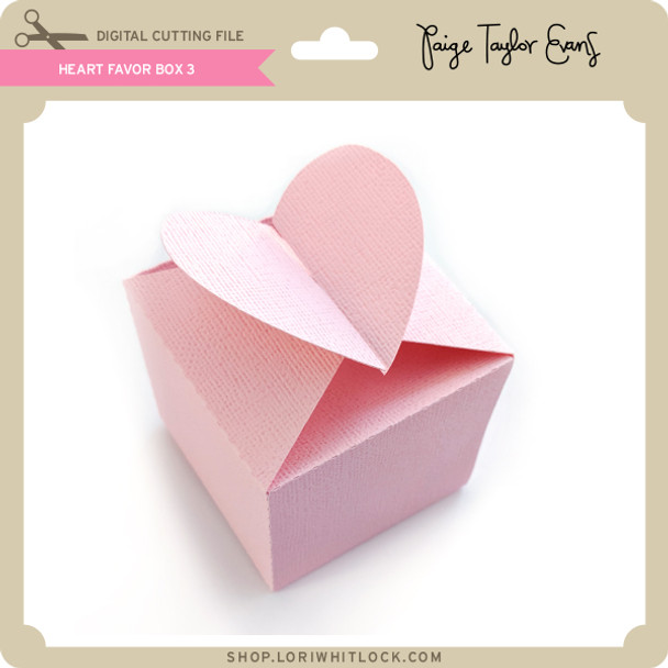 Heart Favor Box 3